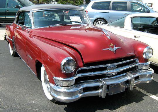 1953 Chrysler Imperial Custom coupe