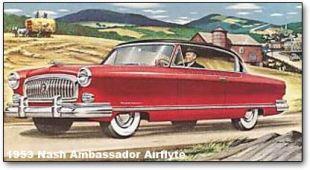 1953 Nash Ambassador Airflyte