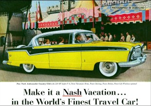 1953 Nash Ambassador Country Club 220HP Jetfire V8 ++