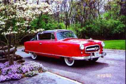 1953 Nash Rambler, 6 cyl., Country Club Coupe model 5327a
