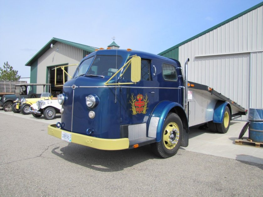 1953 This Ramp Truck Started Life As A 1953 American LaFrance Fire Truck