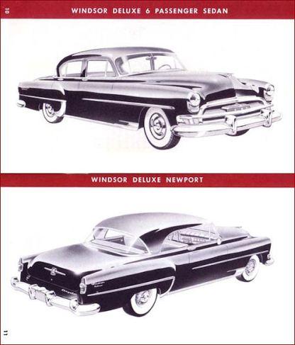 1954 Chrysler Salesbook 10-11