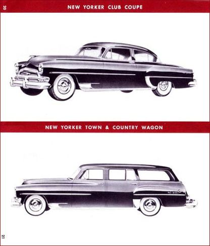 1954 Chrysler Salesbook 20-21