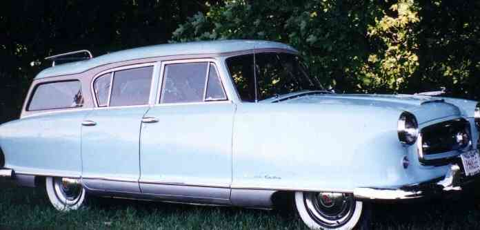 1954 Nash Rambler Custom Wagon, model 5428