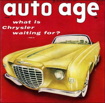 1955 chrysler Falcon-front