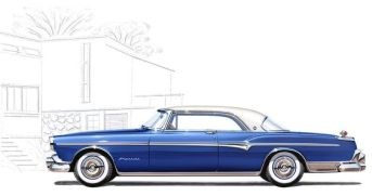 1955 Chrysler Imperial Import ad