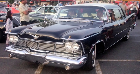 1955 Imperial Crown Sedan (Orange Julep)