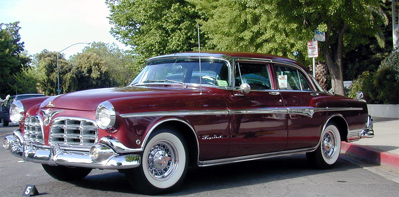 1955 Imperial Four Door Sedan (C-69 series)