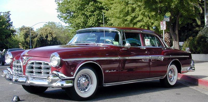 1955 Imperial Four Door Sedan (C-69 series)