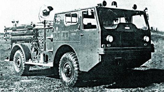 1955 Ward LaFrance МВ-5, 4x4