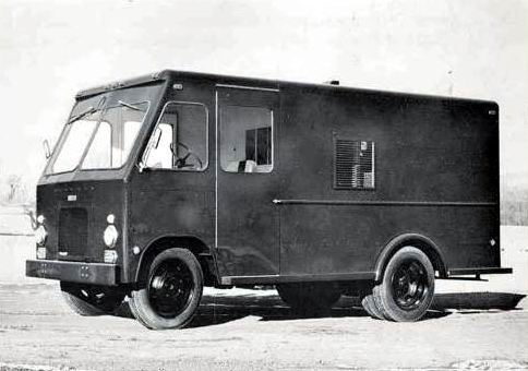 1955 Ward LaFrance Delivery Van Truck Factory Photo