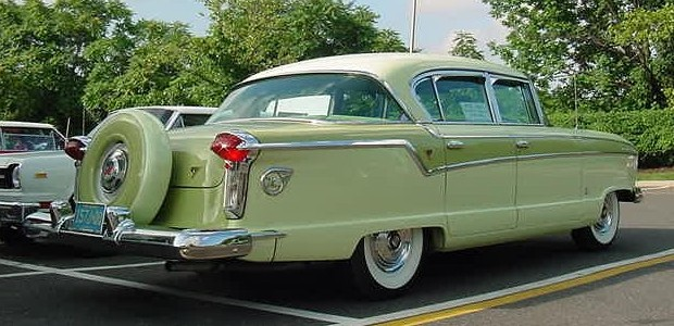 1956 Ambassador sedan with Continental kit