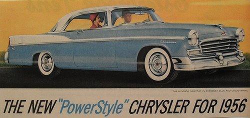 1956 Chrysler Powerstyle