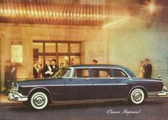 1956 Crown Imperial, C 70, 8 passenger sedan.