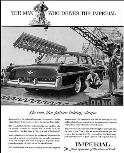 1956 Imperial ad
