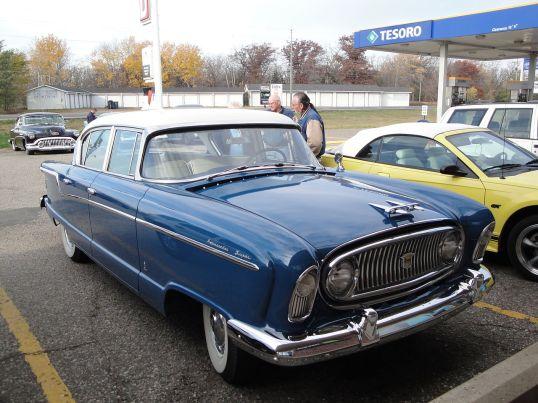 1956 Nash Ambassador Custom 5680 Sedan