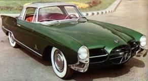 1956 Nash Rambler Pininfarina Palm Beach sports dream car