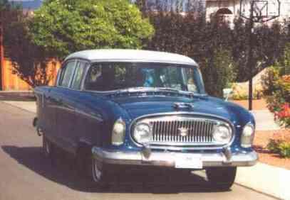 1956 Nash Statesman Super Sedan, 6 Cylinder, 4 Door. model 5645-1a