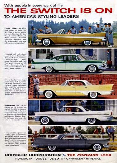 1957 ad from Chrysler Corporation
