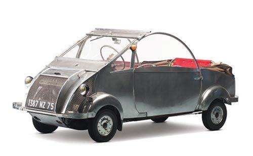 1957 Biscooter by Gabriel Voisin.