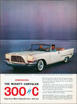 1957 Chrysler 300-C-Convertible