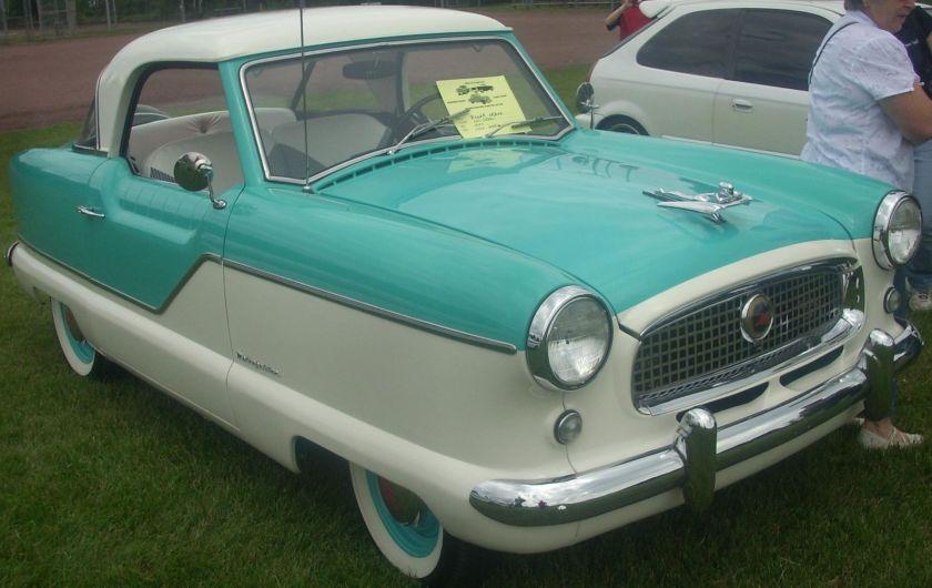 1957 Nash Metropolitan Coupe
