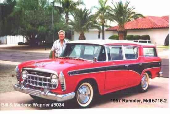 1957 Nash Rambler Cross Country Station Wagon