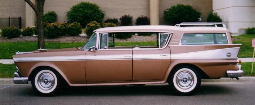 1958 Ambassador 4-d hardtop wagon 1