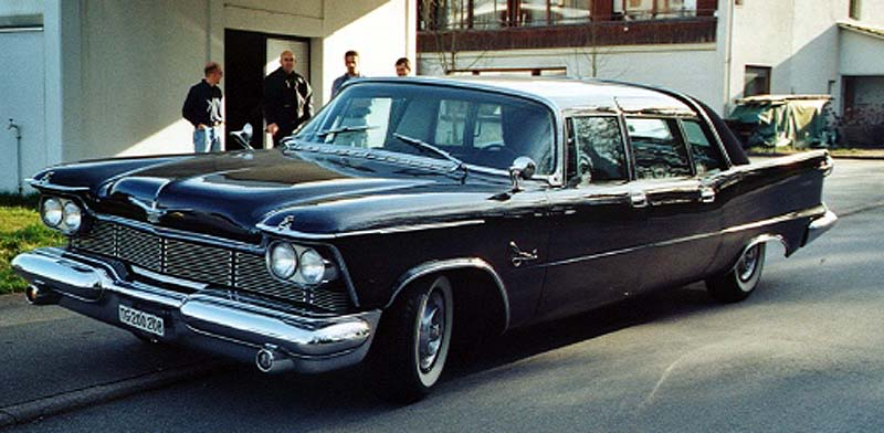 1958 Chrysler Imperial Crown Ghia Lim