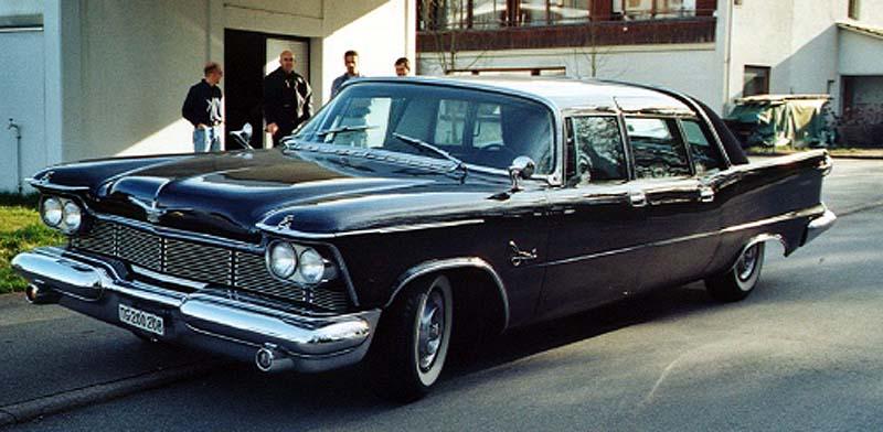 1958 Chrysler Imperial Crown Ghia Lim