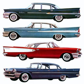 1958 chrysler new yorker+saratoga+windsor