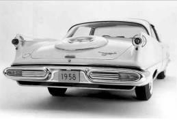 1958 Imperial Crown coupé.