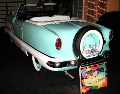 1958 Metropolitan owned by Jimmy Buffett