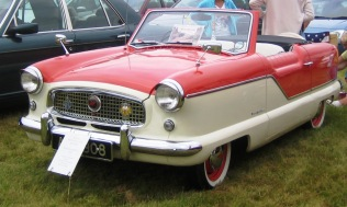 1959 A right-hand drive convertible Austin Metropolitan