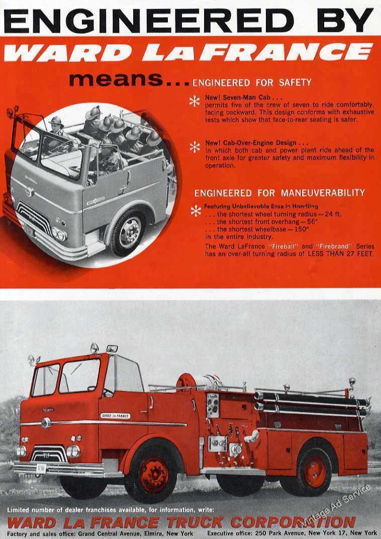 1959 Ward LaFrance Fire Truck