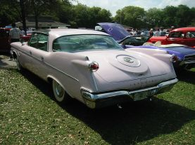 1960 Chrysler Imperial Crown back