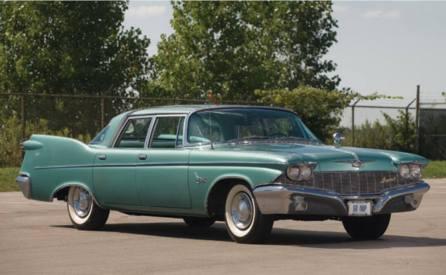 1960 Imperial Custom sedan.