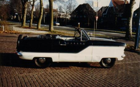 1960 Nash Metropolitan Convertible. model 561