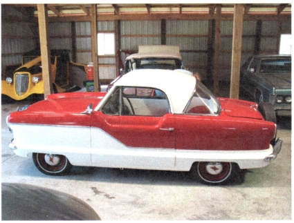 1961 AMC Metropolitan 562, 2-Door Coupe