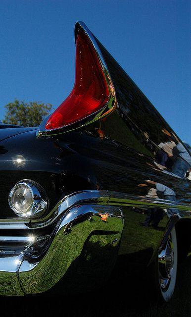 1961 Chrysler 300 rear fender