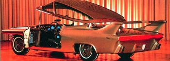 1961 chrysler turboflite show car