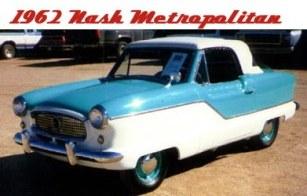 1962 Nash Metropolitan