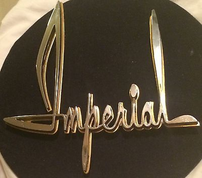 1962 VINTAGE-CHRYSLER-GENUINE-IMPERIAL-FACTORY-OEM-SCRIPT