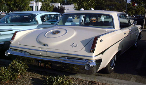 1963 Chrysler Imperial Crown Four-Door rear