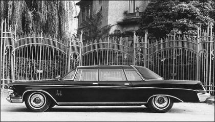 1963 chrysler imperial crown limousine