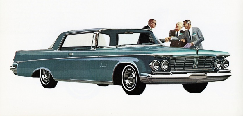 1963 Chrysler Imperial emblem