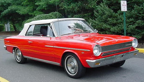 1964 Rambler American 440 convertible-red NJ