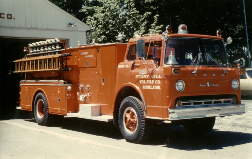 1965 Ward LaFrance on a 1964 Ford 1950 chassis