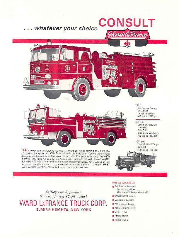 1965 Ward LaFrance Pumper Fire Truck