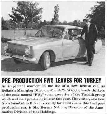 1966 Anadol fw5